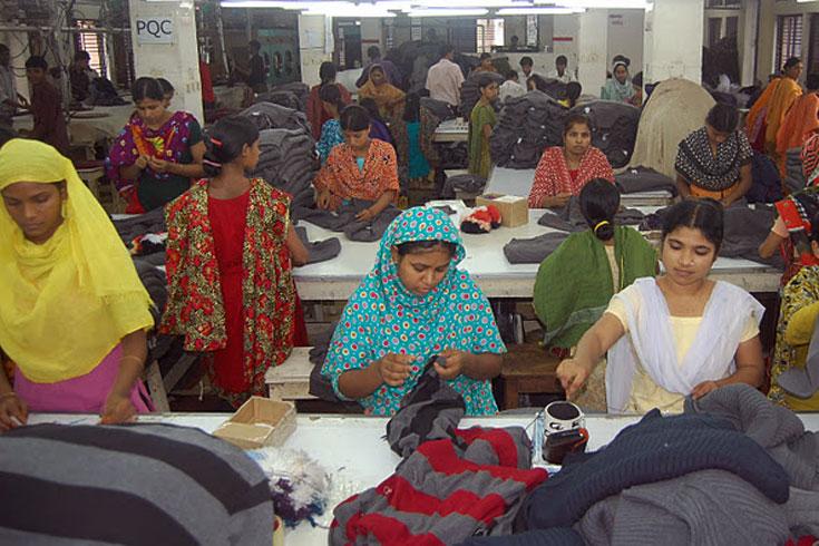 Garments-worker