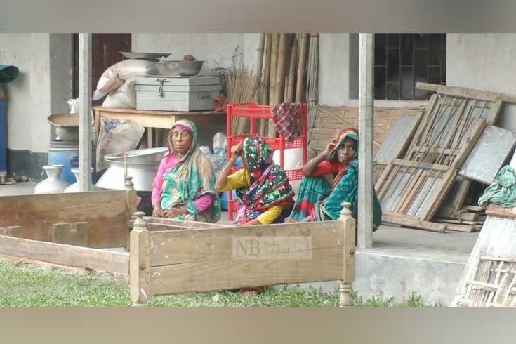 ভাঙছে তিস্তা, ঘর হারিয়েছে ৪০০ পরিবার