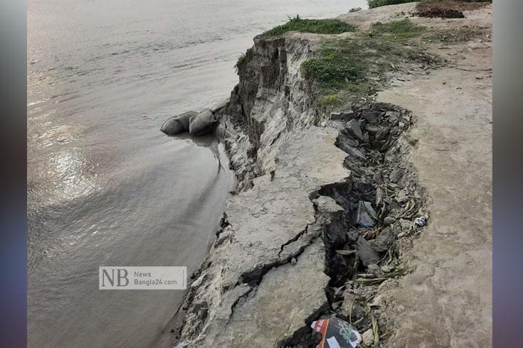 যমুনার ভাঙন: নিঃস্ব নদীপাড়ের মানুষ