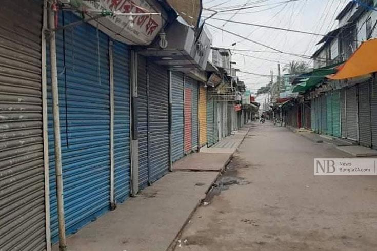 খুলনার ৩ থানা ১ উপজেলায় কঠোর বিধিনিষেধ শুরু