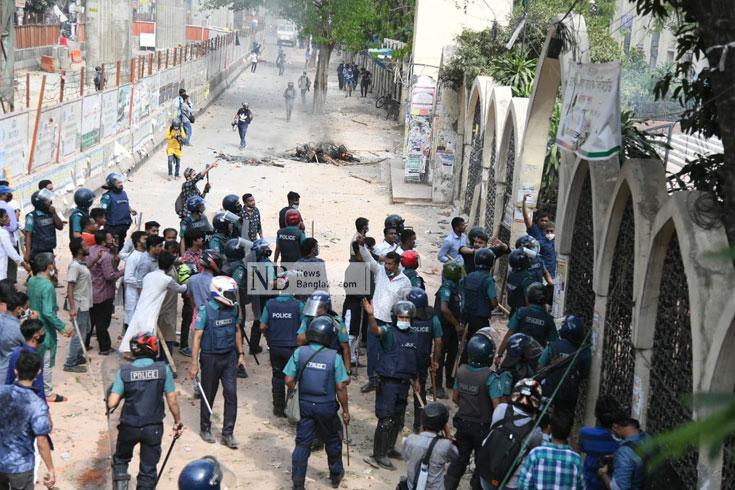 তারা চায় তালেবানি রাষ্ট্র: পুলিশ কর্মকর্তা