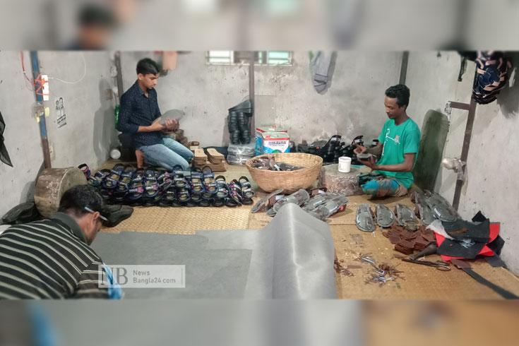 সংকটে কাহিল ব্রাহ্মণবাড়িয়ার পাদুকাশিল্প