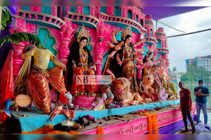মণ্ডপে কোরআন রাখায় প্রধান সন্দেহভাজন যুবক ইকবাল