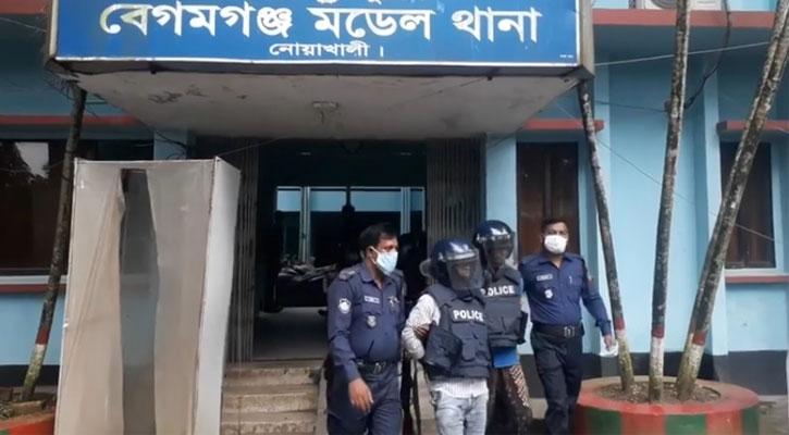বেগমগঞ্জ নির্যাতন: রহিম-রহমত রিমান্ডে