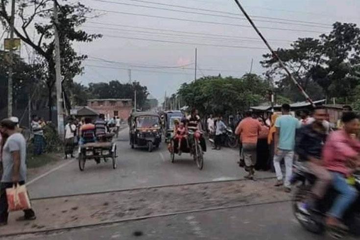 যশোরে দুর্ঘটনা: এলজিইডিকে দুষছে রেলওয়ে