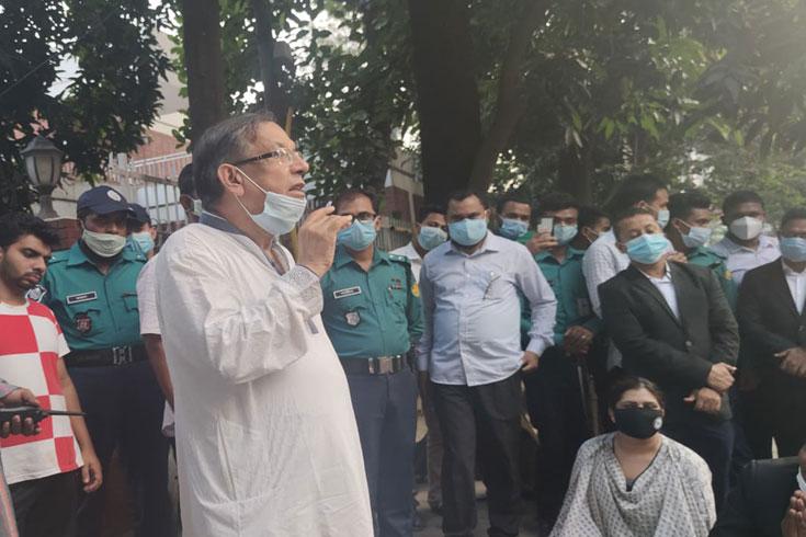 ভাইভার বিষয়টি 'দেখবেন' আইনমন্ত্রী