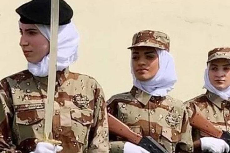 সেনাবাহিনীতে যোগ দিতে পারবেন সৌদি নারীরা