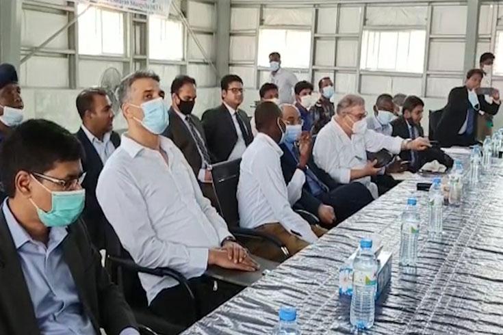 ভাসানচরে সন্তুষ্ট ওআইসির প্রতিনিধি দল