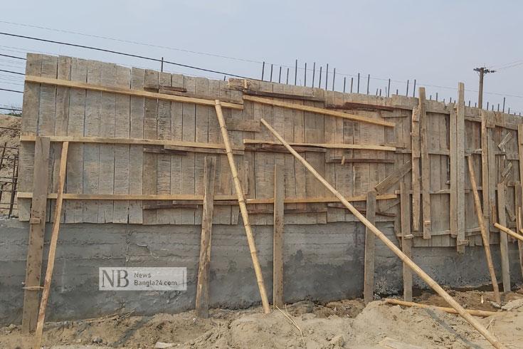 অনিয়ম: বিদ্যুতের সাব-স্টেশন নির্মাণ বন্ধ করে দিল স্থানীয়রা