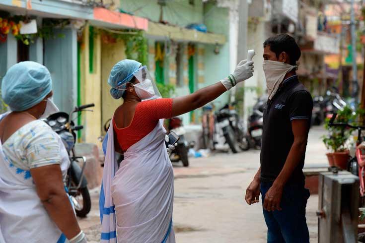 ভারতে ২ কোটি ছাড়াল করোনা শনাক্ত