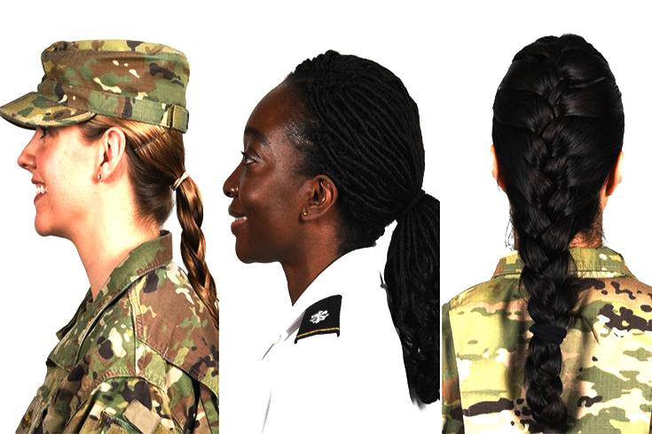 যুক্তরাষ্ট্রে নারী সেনাদের ঝুঁটি-বেণিতে বাধা নেই