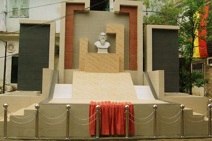 'শ্রীভূমি'তে রবীন্দ্রনাথ