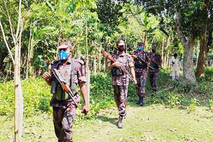 করোনা: ভারত সীমান্তে বিজিবির রেড অ্যালার্ট