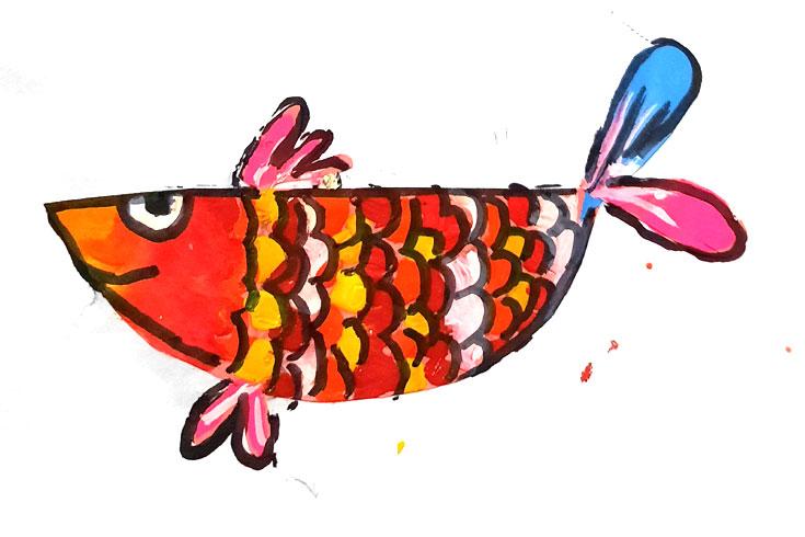 ফাহমিদার রঙিন মাছ