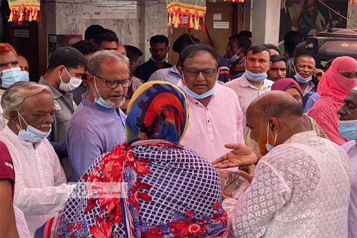 বাণিজ্যমন্ত্রীর ক্যানসার হাসপাতাল নির্মাণ শুরু