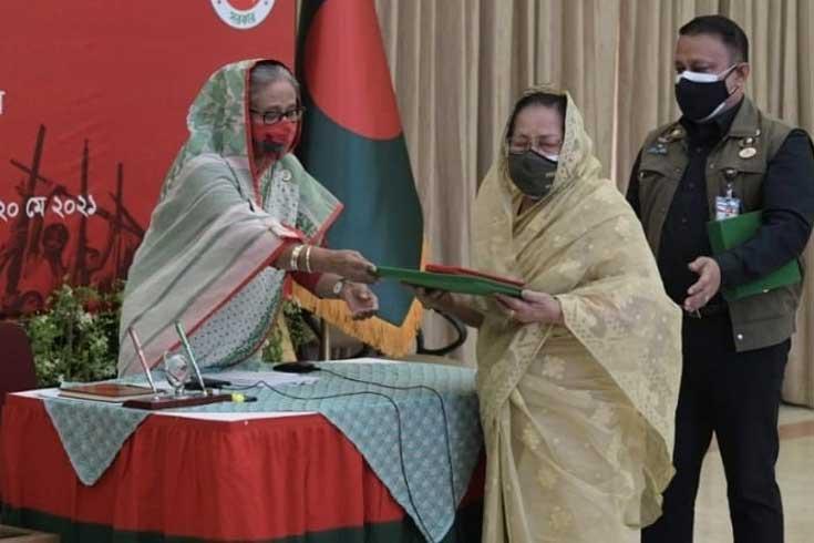 বীর মুক্তিযোদ্ধা কে এম বজলুর রহমান পেলেন স্বাধীনতা পুরস্কার