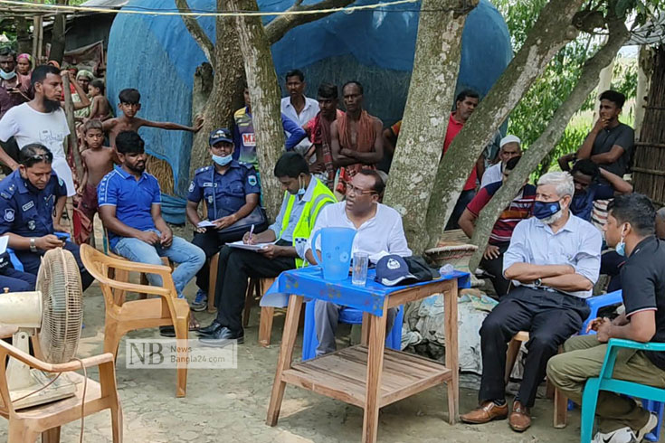 পুলিশ জিজ্ঞাবাদ