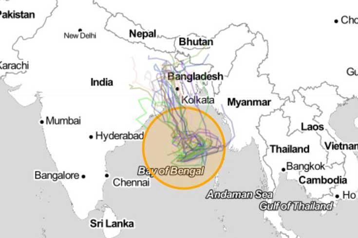 'ইয়াস' উপকূল অতিক্রম করবে বুধবার