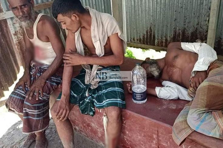 দুই পক্ষের সংঘর্ষে আহত ৬০, পুলিশের ফাঁকা গুলি