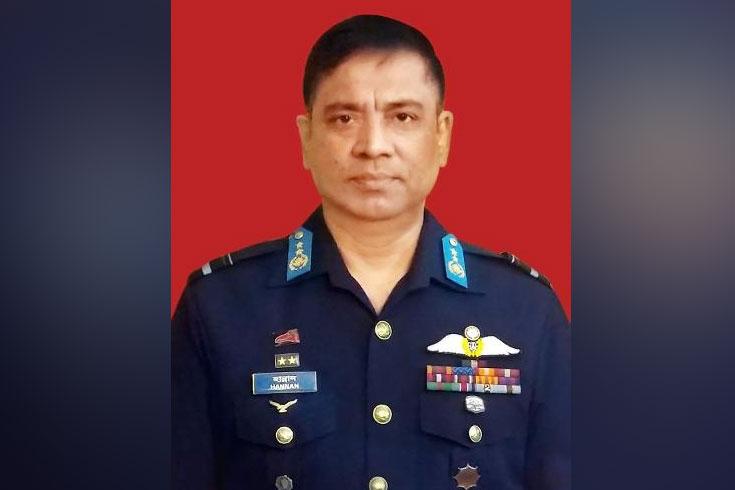 বিমানবাহিনীর প্রধান হলেন শেখ আব্দুল হান্নান