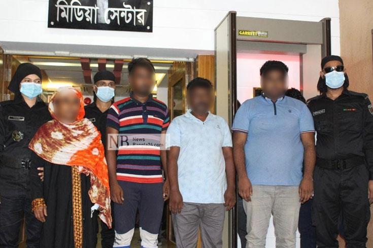 কেরালায় তরুণীকে নির্যাতন: হোতাসহ চারজন রিমান্ডে