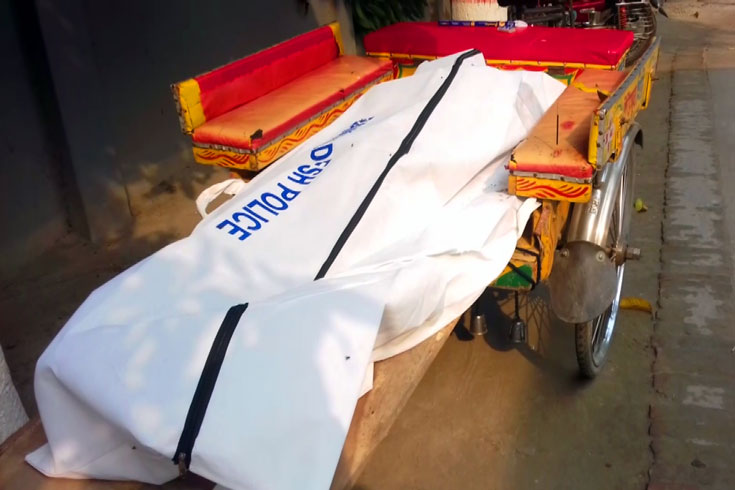 হালখাতায় মাইক ঘোরাতে গিয়ে বিদ্যুৎস্পৃষ্টে চাচা-ভাতিজার মৃত্যু