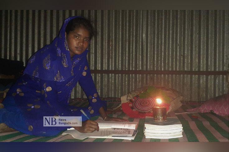 শতভাগ বিদ্যুতায়িত উপজেলায় কুপির আলোয় রাত