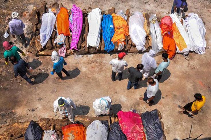 ভারতে করোনায় মৃত্যু সাড়ে তিন লাখ ছাড়াল