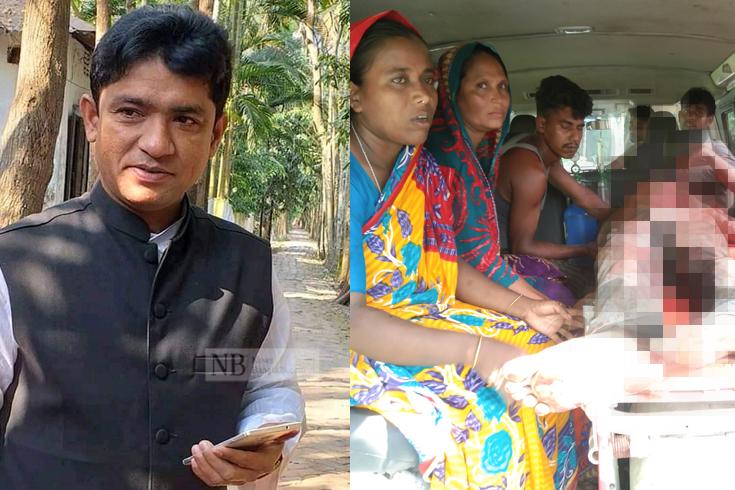 নোয়াখালীতে ইউপি সদস্য ও প্রবাসীকে কুপিয়ে হত্যা