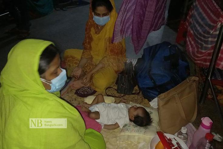 রাজশাহীতে ৪৫ দিনের শিশুর করোনা পজিটিভ