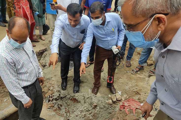 মগবাজার বিস্ফোরণ: তল পাচ্ছে না বিস্ফোরক পরিদপ্তর