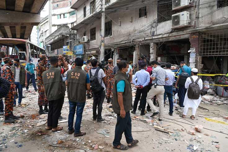 মগবাজারে বিস্ফোরণ: কী আছে মামলার এজাহারে