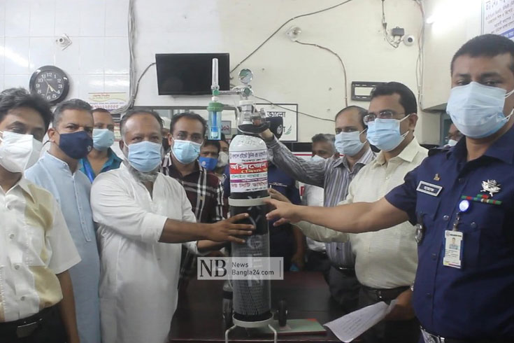 পিরোজপুরে 'অক্সিজেন ব্যাংক' চালু
