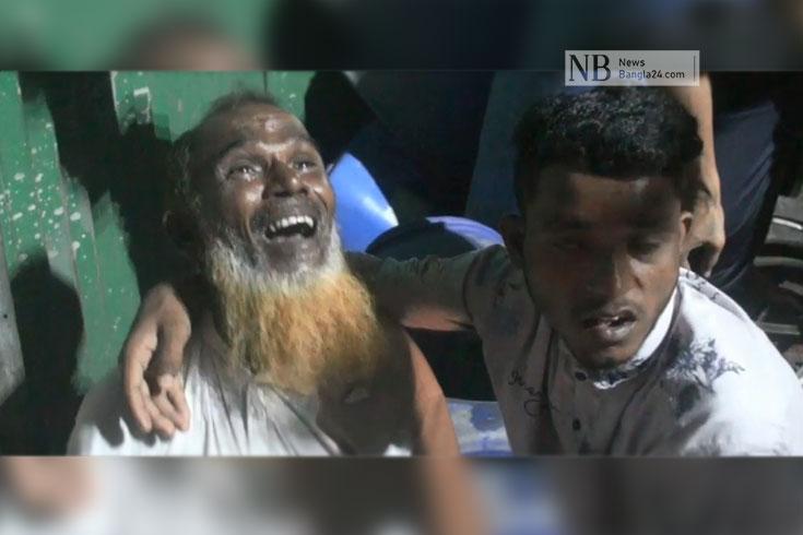 রূপগঞ্জে আগুন: নিখোঁজ শ্রমিকদের খোঁজে স্বজনরা