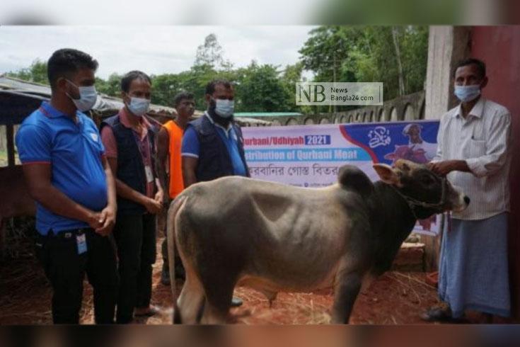 কোরবানির জন্য ২৪ রোহিঙ্গা ক্যাম্পে আড়াই হাজার পশু