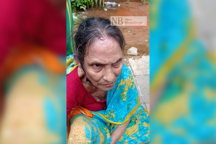 কোরবানি মাংস বিতরণে বৃদ্ধাকে 'মারধর'
