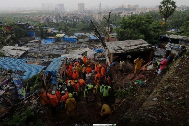 ভারতে ভূমিধসে ৬৭ জনের মৃত্যু