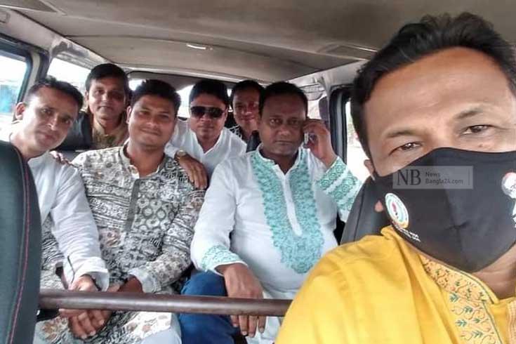 'কঠোর লকডাউনে' সংসদ সদস্যের হাওর বিলাস