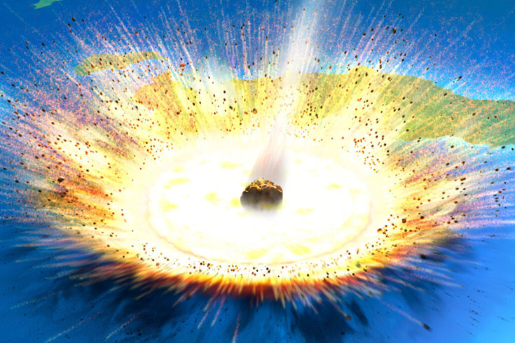 ডাইনোসর বিলুপ্ত করে দেয়া গ্রহাণুর 'আঘাতের ক্ষত' লুইজিয়ানায়