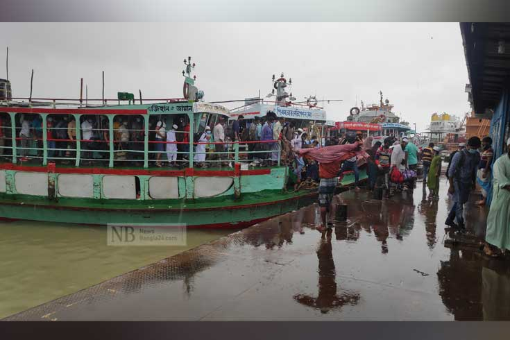 বাংলাবাজার-শিমুলিয়ায় লঞ্চ চলবে রাতেও