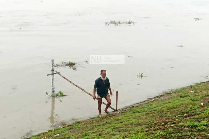 সিরাজগঞ্জে যমুনার পানি স্থিতিশীল