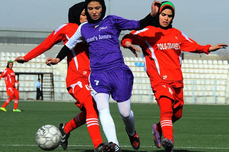 নারী ফুটবলারসহ ৭৫ আফগান খেলোয়াড় অস্ট্রেলিয়ায়
