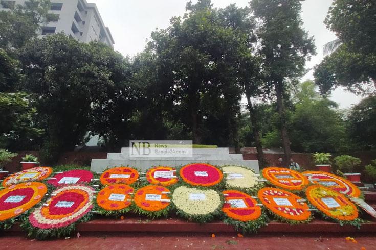 মৃত্যুবার্ষিকীতে শ্রদ্ধা-ভালোবাসায় জাতীয় কবিকে স্মরণ