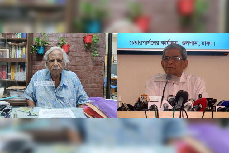 বয়স হওয়ায় উল্টাপাল্টা বকছেন জাফরুল্লাহ: ফখরুল