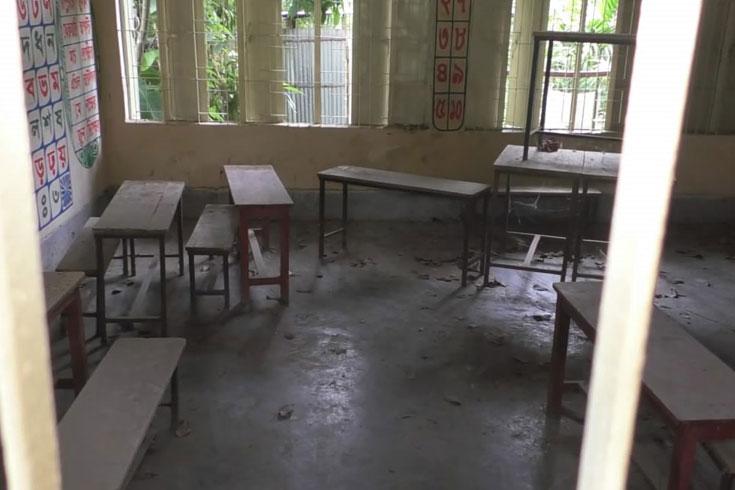 শিক্ষাপ্রতিষ্ঠানে পোকামাকড়ের ঘরবসতি