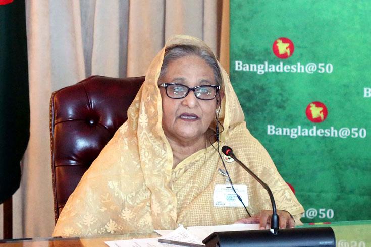 'মুকুটের মণি' শেখ হাসিনা