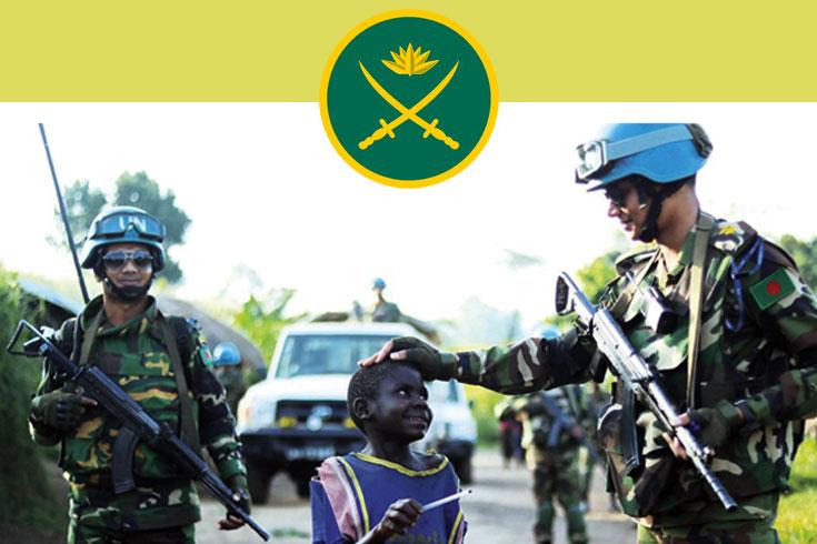দোভাষী নিচ্ছে বাংলাদেশ সেনাবাহিনী