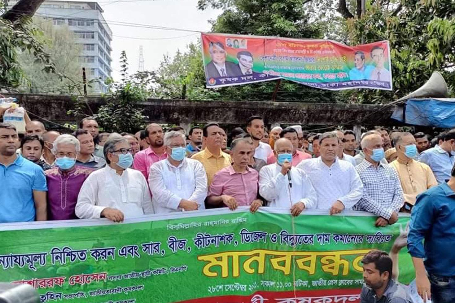 গণ-আন্দোলনে সরকার বিদায় নিতে বাধ্য হবে: মোশাররফ