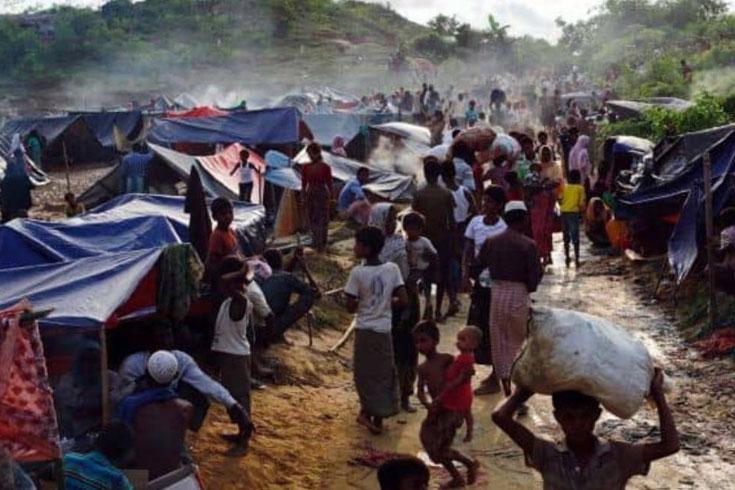 রোহিঙ্গা ক্যাম্পের পরিস্থিতি ভালো: স্বরাষ্ট্রমন্ত্রী