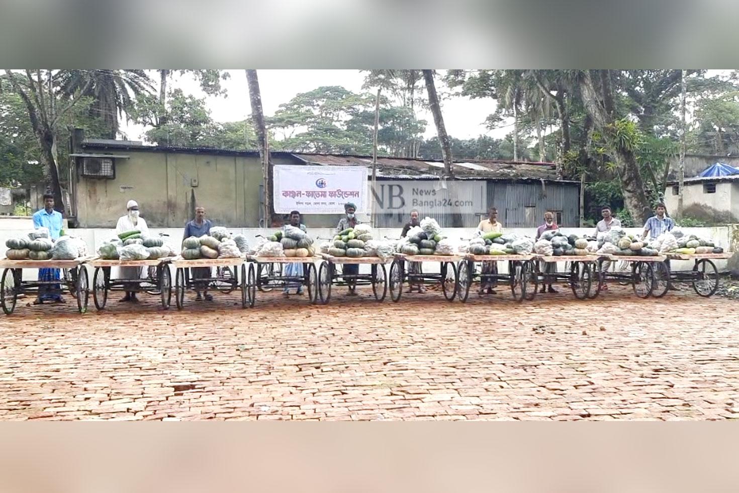'আল্লায় যদি চায় এইডা দিয়াই সংসার চালামু'